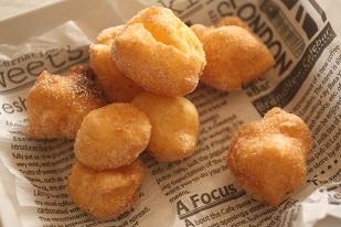 尼さんのおなら、ペドノンヌのフランスのシュー菓子|失敗しないシューのレシピ