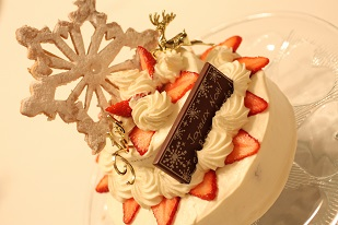 2段ショートケーキ|お菓子教室個人