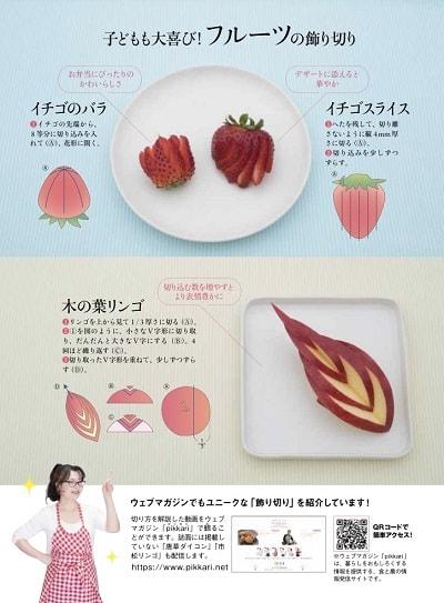 飾り切り撮影|熊谷真由美の雑誌掲載記事