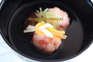 海老しんじょうのレシピ|お料理教室ラクレムデクレム10の秘密|料理研究家 熊谷真由美のおもてなし料理教室