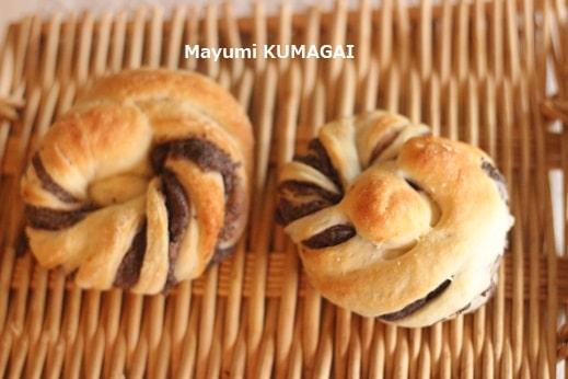 ねじりあんパン レシピ・作り方