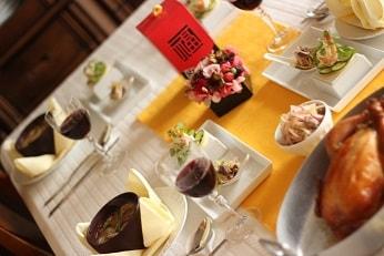 お料理教室の中華でお祝いのお献立