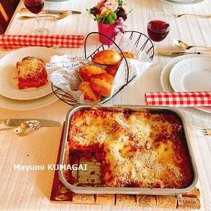 おうちイタリアンのテーブルコーディネイト