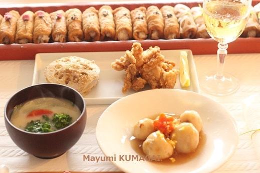 白味噌の関西風雑煮でおせち料理♪