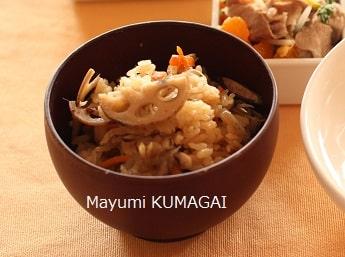 かやくご飯でおもてなし|千葉浦安市県のお料理教室 熊谷真由美のラクレムデクレム