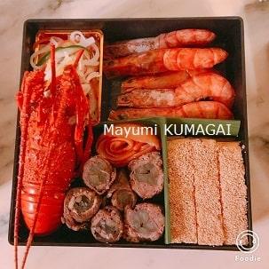 おせち料理二の重につめたおせち|千葉県浦安市の料理教室 熊谷真由美のラクレムデクレム