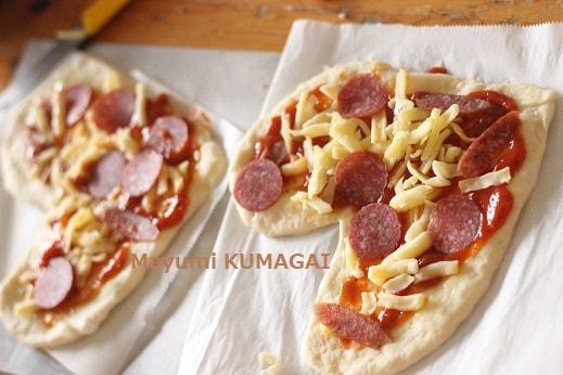 トマトジュースで1分で自家製ピザソース