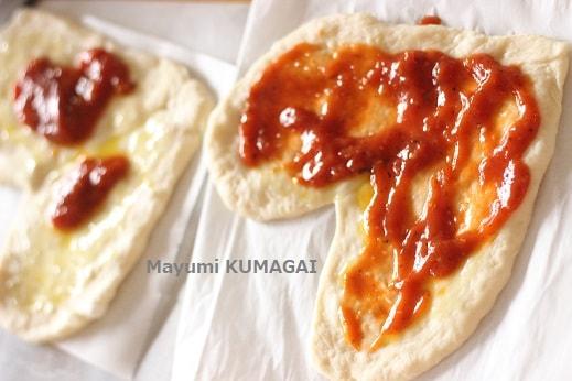 トマトジュースで1分で自家製ピザソースの作り方レシピ