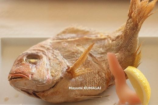 祝い鯛♪鯛の姿焼き
