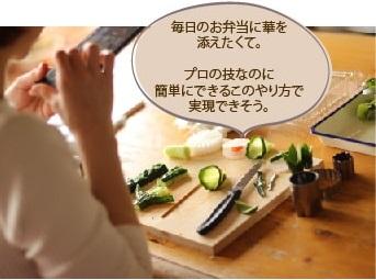 飾り切りのマンツーマン1日料理教室|マンツーマンお料理教室