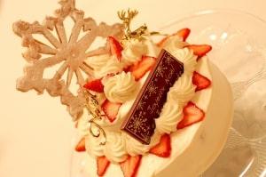 2段ショートケーキ