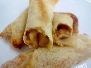 簡単!春巻きの皮で、あの味より美味【アップルパイ】 レシピ・作り方