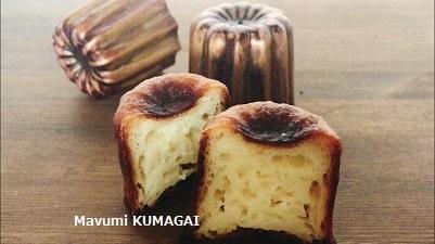 カヌレど銅製カヌレ型