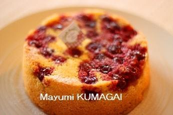 さくらんぼのケーキ|新浦安のお菓子教室