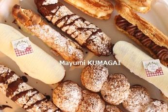 フランス菓子教室@千葉浦安の研究家クラス|シュークリームのエクレアレッスン