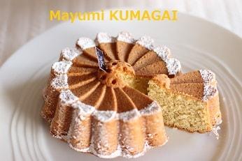 マーガレットのフラワー型で焼くマルグリットケーキ 焼き菓子