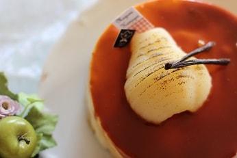 洋梨のムース