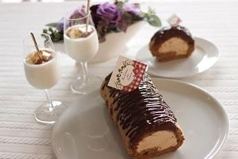 ロールケーキ|千葉県浦安市のお菓子教室 熊谷真由美のラクレムデクレム