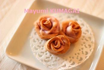 薔薇の3Dクッキー