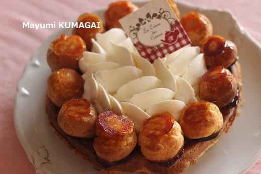 伝統フランスン菓子 サントノレ