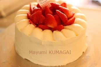 イチゴのショートケーキ教室|千葉県