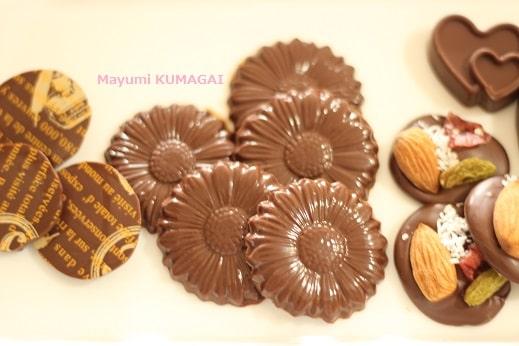 板チョコレートを電子レンジを使ってテンパリング